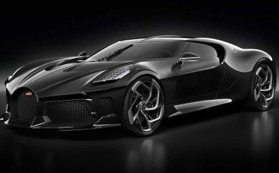 Bugatti La Voatio Noire là ô tô đắt nhất thế giới hiện nay.