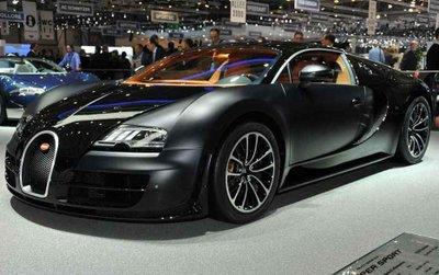 Các kỹ sư hoàn thiện siêu xe Bugatti Veyron Mansory Vivere trong 400 giờ.