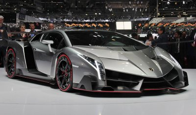 Xếp thứ 5 của danh sách 10 xe ô tô đắt nhất thế giới là Lamborghini Veneno.