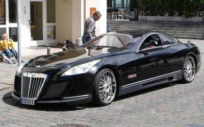 Mercedes-Benz Maybach Exelero khiến người ta trầm trồ vì độ sang trọng.