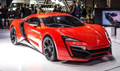 Siêu xe W Motors Lykan Hypersport từng xuất hiện trong Fast & Furious 7.