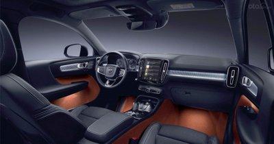 Nội thất xe Volvo XC40 2019.