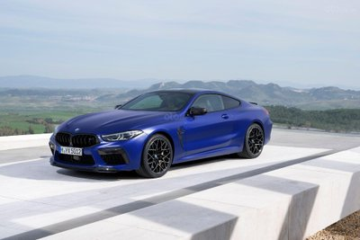 BMW M8 2020 bản coupe.