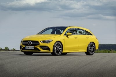 Mercedes-AMG CLA 35 Shooting Brake 2020.