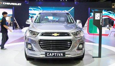 Thông số kỹ thuật xe Chevrolet Captiva a1