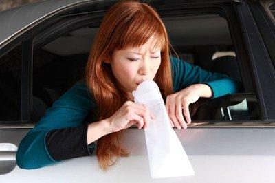 Những vật dụng tài xế nên chuẩn bị khi người thân có chứng say xe 3