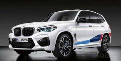 BMW X3 M Performance.