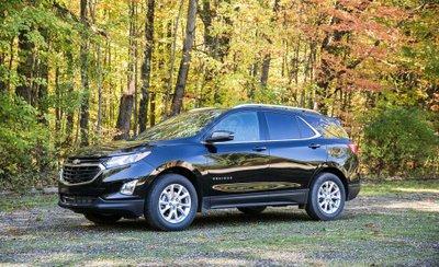 Chevrolet Equinox 2019 góc 3/4 đầu xe