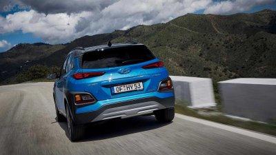 Hyundai Kona 2019 Hybrid có hiệu suất tiêu thụ nhiên liệu ấn tượng