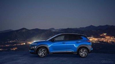Hyundai Kona 2019 Hybrid vẫn mang vẻ ngoài của bản truyền thống