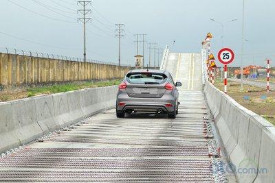 Đường thử mới của Ford còn đáp ứng yêu cầu của Nghị định 116.