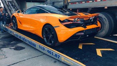 """Chiếc McLaren 720S thứ 5 vừa về Việt Nam phục vụ """"dân chơi"""" Sài Gòn a2"""