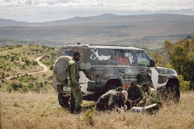Land Rover Defender 2020 tham gia chương trình thử nghiệm tại Lãnh địa Sư tử Kenya a12