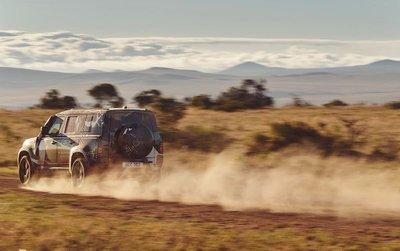 Land Rover Defender 2020 tham gia chương trình thử nghiệm tại Lãnh địa Sư tử Kenya a11