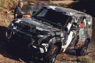 Land Rover Defender 2020 tham gia chương trình thử nghiệm tại Lãnh địa Sư tử Kenya a16