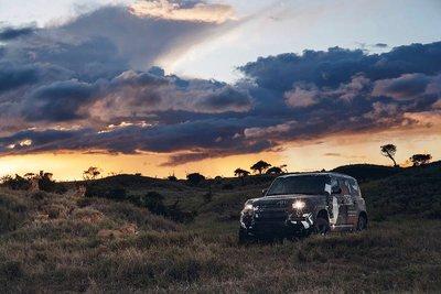 Land Rover Defender 2020 tham gia chương trình thử nghiệm tại Lãnh địa Sư tử Kenya a6