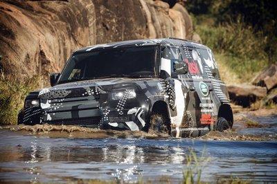 Land Rover Defender 2020 tham gia chương trình thử nghiệm tại Lãnh địa Sư tử Kenya a3