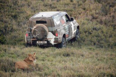 Land Rover Defender 2020 tham gia chương trình thử nghiệm tại Lãnh địa Sư tử Kenya a20