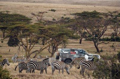 Land Rover Defender 2020 tham gia chương trình thử nghiệm tại Lãnh địa Sư tử Kenya a19