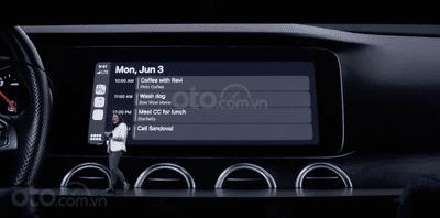 Hệ thống ô tô Apple CarPlay cải tiến hơn