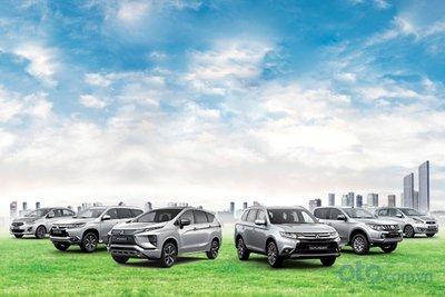 Mitsubishi tham dự triển lãm Vietnam Auto Expo 2019.