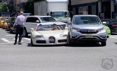 """Bugatti Veyron trị giá hơn 40 tỷ đồng gặp """"sao quả tạ"""" chỉ vài phút cùng chủ mới rời đại lý a6"""