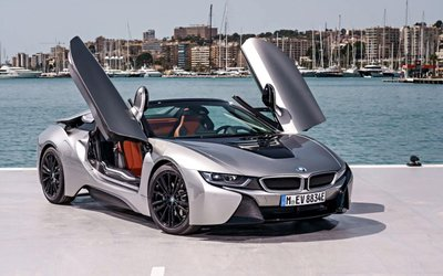 10 xe hơi đẹp nhất thế giới hiện nay: BMW i8 Roadster.