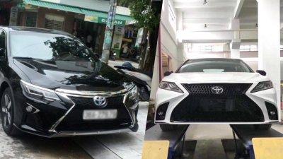 """Toyota Hilux tại Việt Nam """"hóa thân"""" thành Lexus LX 570 a18"""