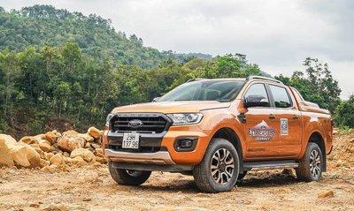 Ford Ranger Wildtrak 2019 tại Việt Nam....