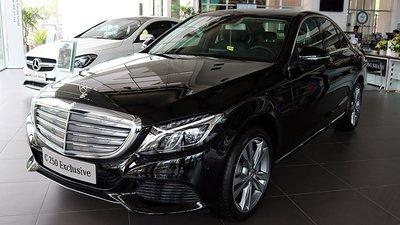 Mercedes-Benz C250 Exclusive 2019 tại Việt Nam...
