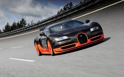 Bugatti Veyron từng là 'ông hoàng tốc độ' trước khi Koenigsegg Agera RS xuất hiện.