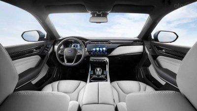 Ford Territory EV thừa hưởng nội thất hiện đại