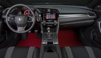Nội thất cá tính của Honda Civic Si.