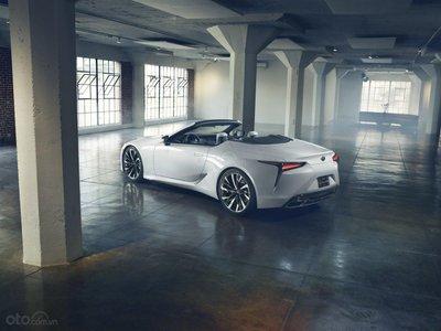 Lexus LC 2020 Convertible có khả năng sở hữu bản hybrid