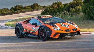 Lamborghini Huracan Sterrato sẽ được sản xuất đại trà với tư cách siêu xe địa hình a8