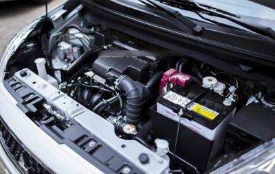 Động cơ 3 xi lanh 1.2L của Mitsubishi Mirage được đánh giá cao về khả năng tiết kiệm nhiên liệu.