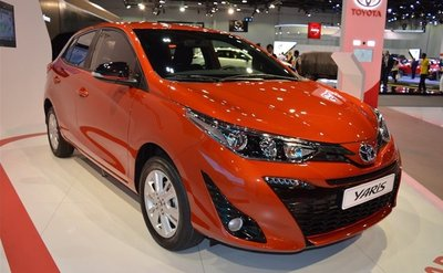 Toyota Yaris chỉ phân phối 1 phiên bản duy nhất tại Việt Nam.