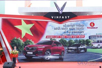Khánh thành nhà máy sản xuất ô tô VinFast.