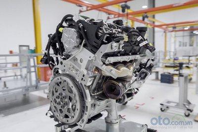 Xưởng động cơ của nhà máy ô tô VinFast 2.