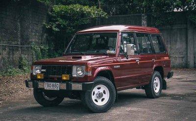 Mitsubishi Pajerothế hệ đầu tiên...