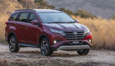 Toyota Rush 2019 tại Việt Nam...