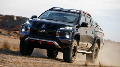 Mitsubishi Triton Absolute: Lời tuyên chiến dành cho Ford Ranger Raptor a1