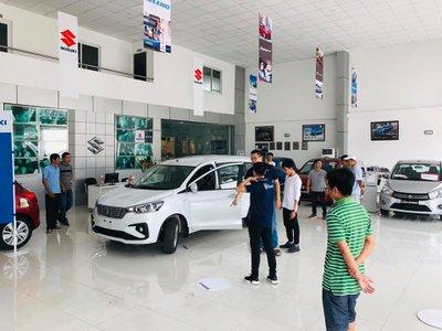 Cận cảnh Suzuki Ertiga 2019 tại đại lý, ngày ra mắt Việt Nam gần kề.