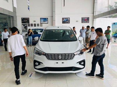 Cận cảnh Suzuki Ertiga 2019 tại đại lý, ngày ra mắt Việt Nam gần kề - Ảnh 1.