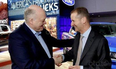 Jim Hackett và Herbert Diess