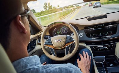 Hệ thống Cadillac Super Cruise.