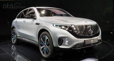 Cận cảnh Mercedes-Benz EQC 2020 ra mắt Đông Nam Á