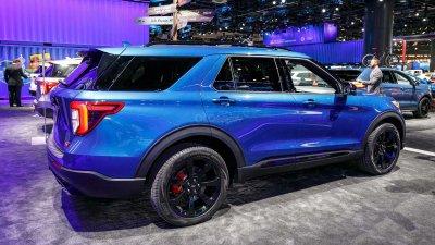 Ford Explorer 2020 ST là biến thể cao cấp của hãng xe Mỹ