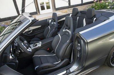 Mercedes-AMG C 63 ghế trước
