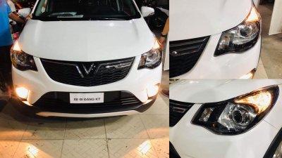VinFast Fadil được nâng cấp đèn pha bi-xenon sau khi về chủ mới a1